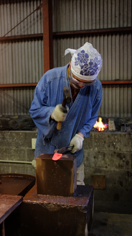 workshop kurogane otoya japan tradtional ironmaking blacksmithing (1)
