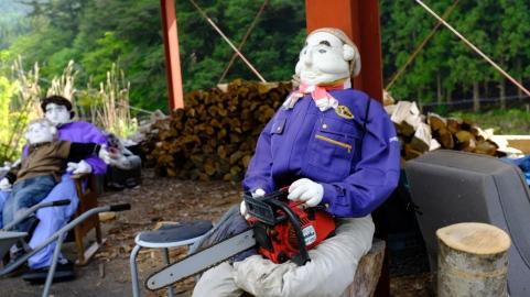 Kochi, Vine bridges, doll village , Japanese doll village, doll people japan (13)