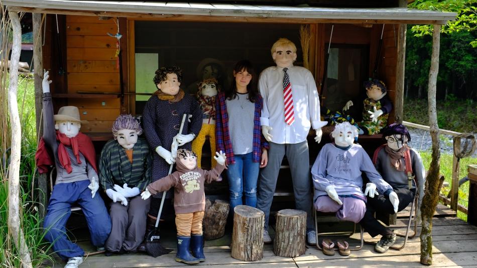 Kochi, Vine bridges, doll village , Japanese doll village, doll people japan (19)