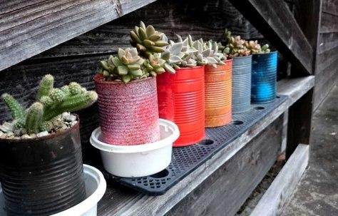 upcycling, succulents, succulent diy, planter pots